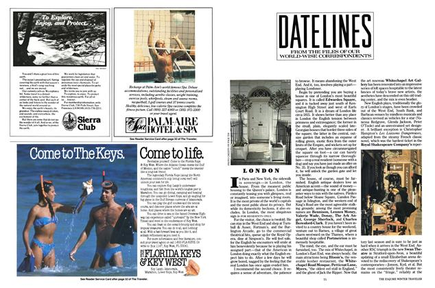 Article Preview: Datelines, OCTOBER 1986 1986 | Esquire