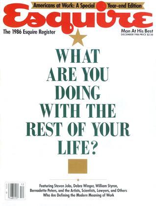 DECEMBER 1986 | Esquire