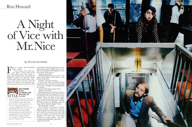 A Night of Vice with Mr. Nice