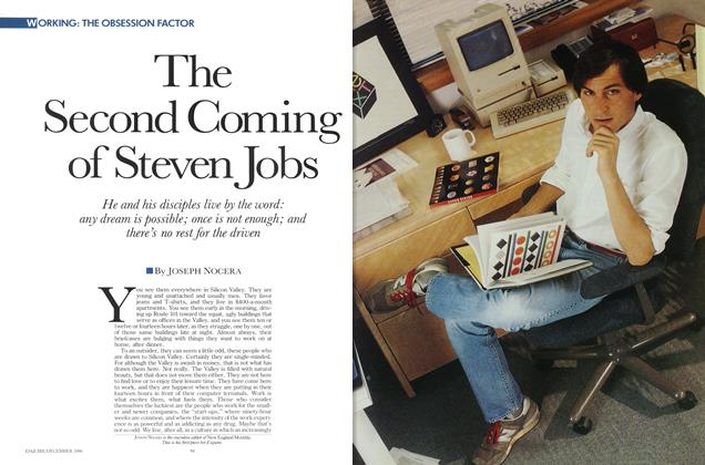 Article Preview: The Second Coming of Steven Jobs, DECEMBER 1986 1986 | Esquire