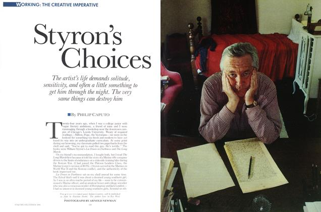 Article Preview: Styron's Choices, DECEMBER 1986 1986 | Esquire