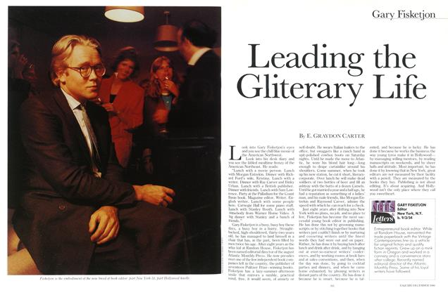 Article Preview: Leading the Gliterary Life, December 1986 | Esquire