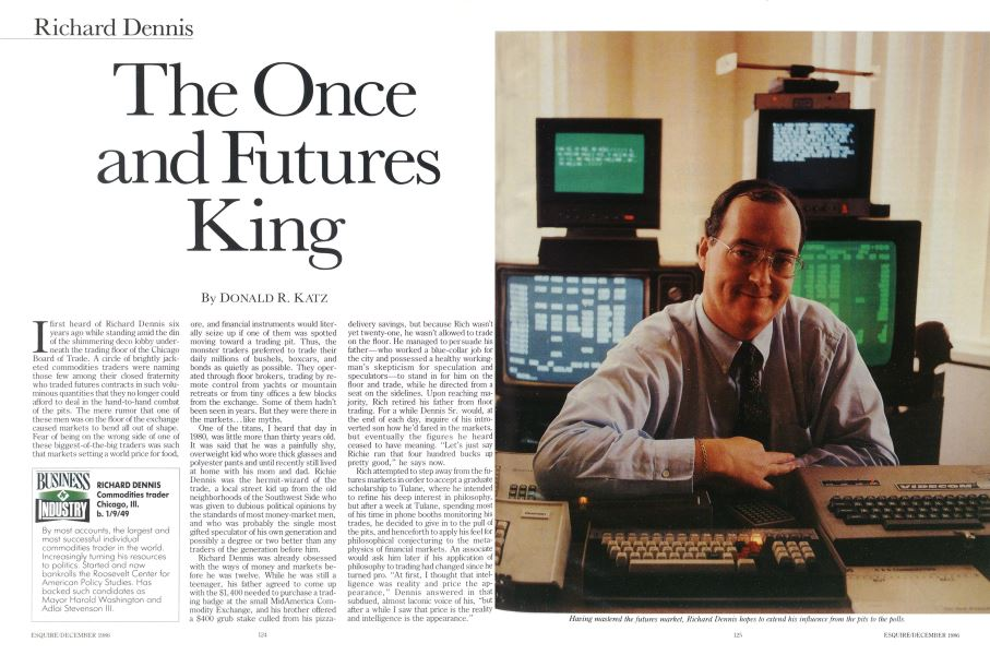The Once and Futures King | Esquire | DECEMBER 1986
