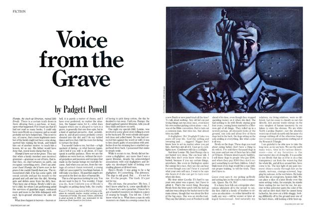 Voice From the Grave