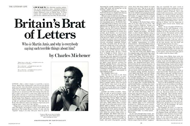 Article Preview: Britain's Brat of Letters, JANUARY 1987 1987 | Esquire