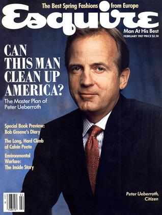 Cover for the February 1987 issue