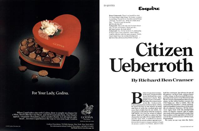 Article Preview: Citizen Ueberroth, February 1987 | Esquire