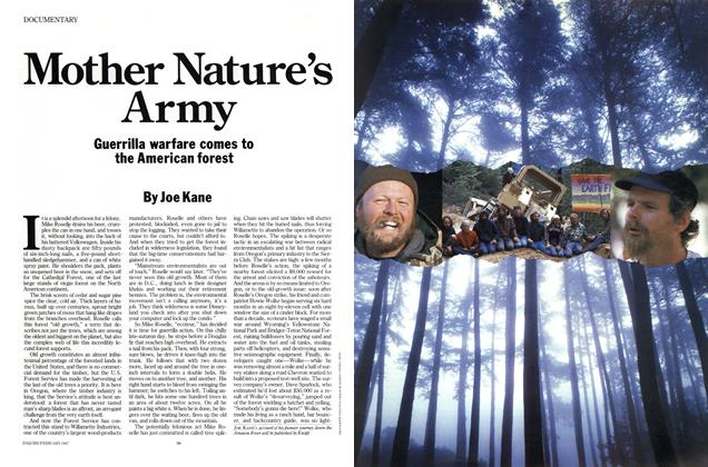 Article Preview: Mother Nature's Army, FEBRUARY 1987 1987 | Esquire