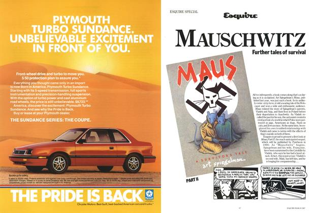 Article Preview: Mauschwitz: Further Tales of Survival, MARCH 1987 1987 | Esquire