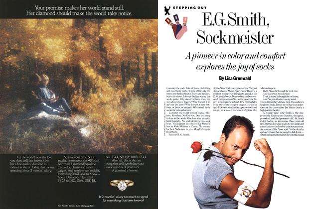 Article Preview: E.G. Smith, Sockmeister, March 1987 | Esquire