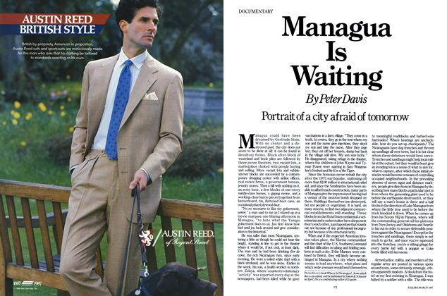 Article Preview: Managua Is Waiting, MARCH 1987 1987 | Esquire