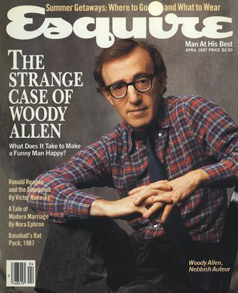 Cover for the April 1987 issue