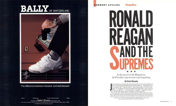 Ronald Reagan and the Supremes