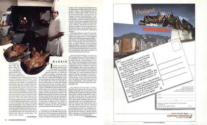 Article Preview: Madrid, APRIL 1987 1987 | Esquire