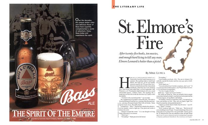 Article Preview: St. Elmore's Fire, APRIL 1987 1987 | Esquire