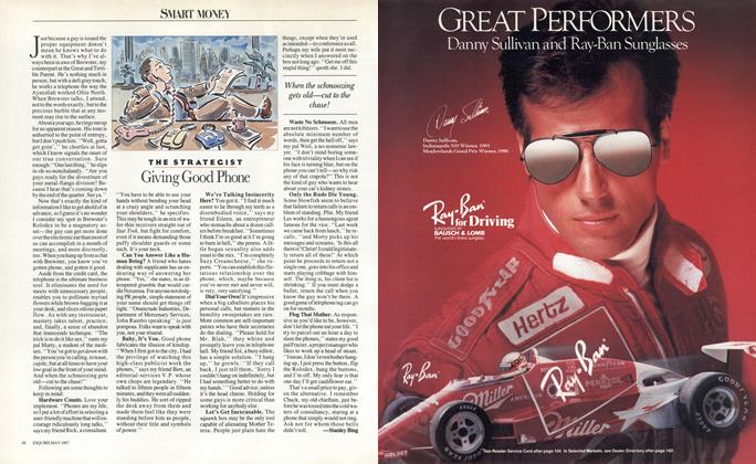 Article Preview: Giving Good Phone, May 1987 | Esquire