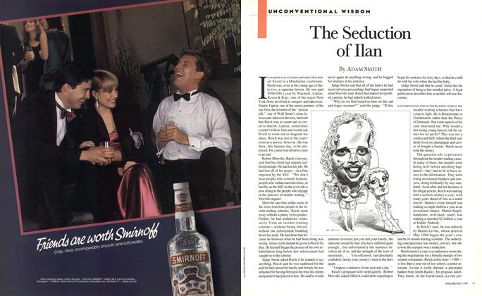 Article Preview: The Seduction of Ilan, MAY 1987 1987 | Esquire