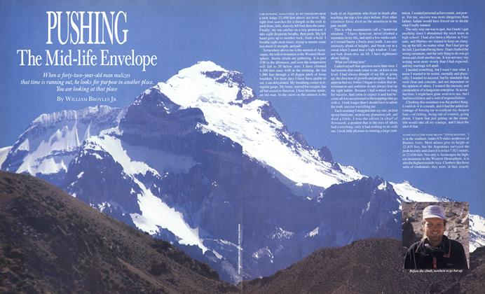 Article Preview: Pushing the Mid-life Envelope, JUNE 1987 1987   Esquire