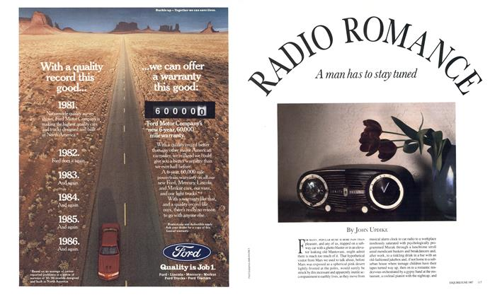 Article Preview: Radio Romance, JUNE 1987 1987   Esquire