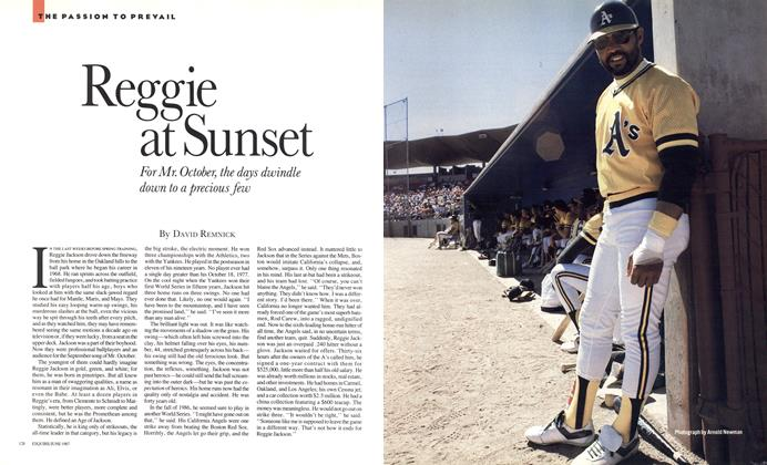 Article Preview: Reggie at Sunset, JUNE 1987 1987 | Esquire