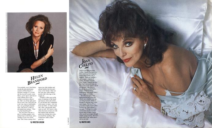 Article Preview: Joan Collins, June 1987 | Esquire