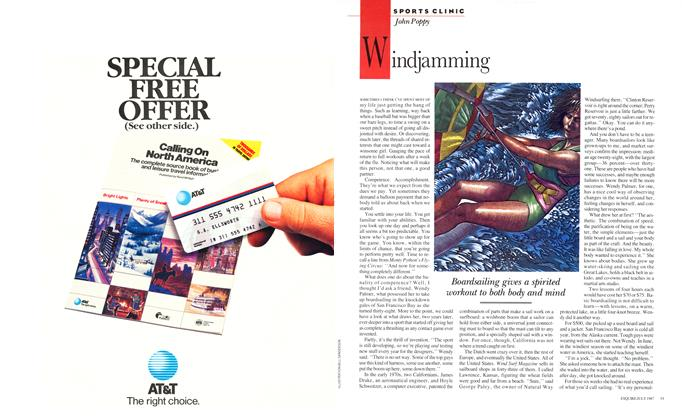 Article Preview: Windjamming, JULY 1987 1987 | Esquire
