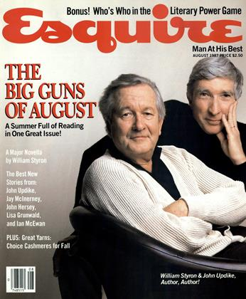 Cover for the August 1987 issue