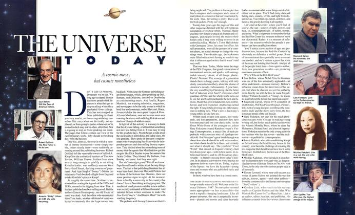 Article Preview: The Universe Today, August 1987 | Esquire