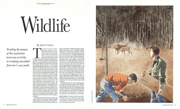 Article Preview: Wildlife, August 1987 | Esquire