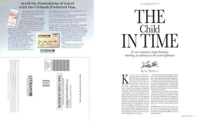Article Preview: The Child in Time, August 1987 | Esquire