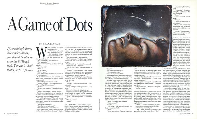 Article Preview: A Game of Dots, August 1987 | Esquire