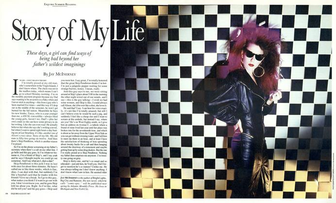 Article Preview: Story of My Life, August 1987 | Esquire