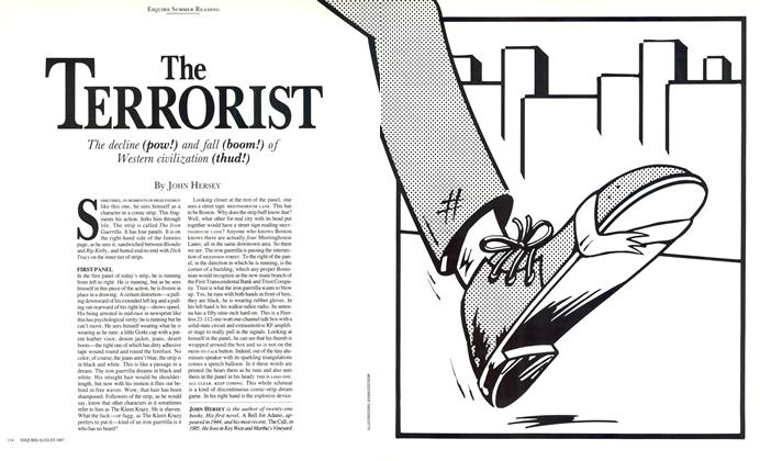 Article Preview: The Terrorist, August 1987 | Esquire