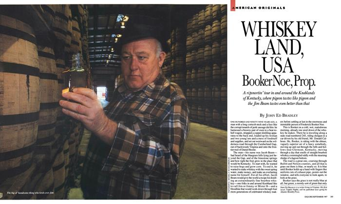 Article Preview: Whiskey Land, USA , September 1987 | Esquire