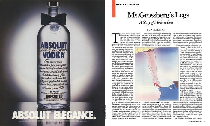 Article Preview: Ms. Grossberg's Legs, September 1987 | Esquire