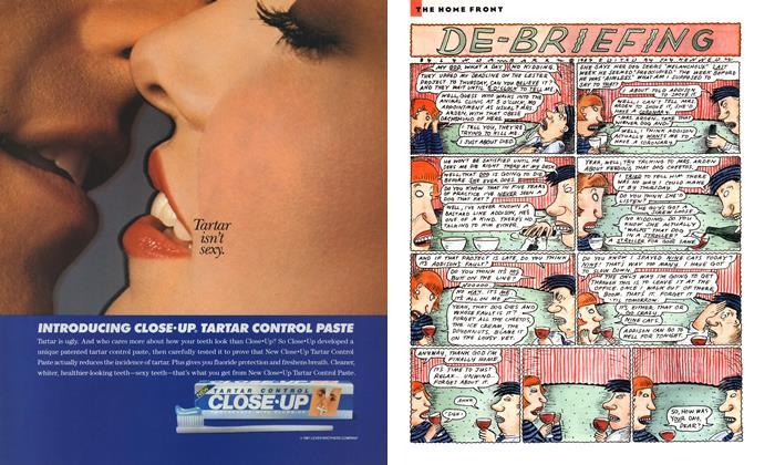 Article Preview: DE-BRIEFING, SEPTEMBER 1987 1987   Esquire