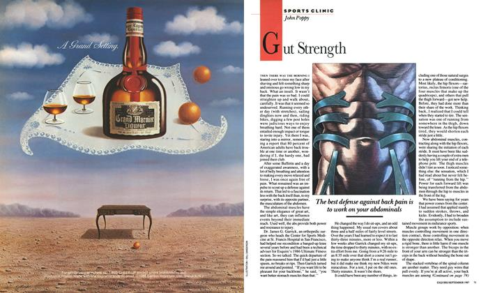 Article Preview: Gut Strength, SEPTEMBER 1987 1987 | Esquire