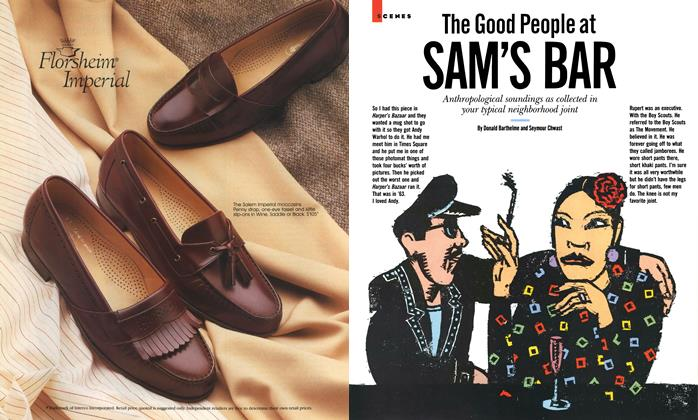 Article Preview: The Good People at Sam's Bar, October 1987 | Esquire