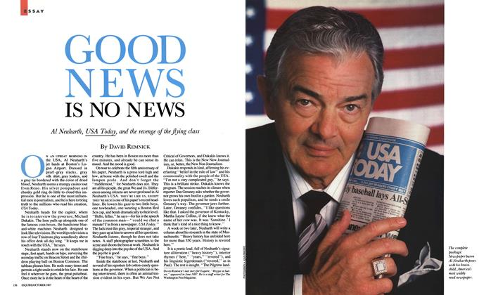 Article Preview: Good News Is No News, October 1987 | Esquire