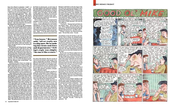 Article Preview: Good Ol' Mike, October 1987   Esquire