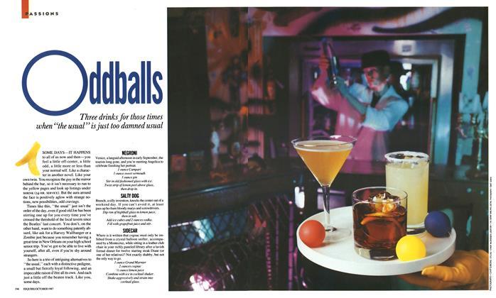 Article Preview: Oddballs, October 1987   Esquire