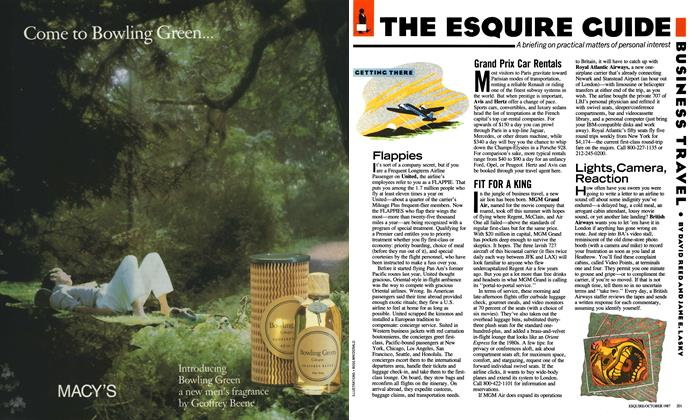 Article Preview: The Esquire Guide, October 1987 | Esquire