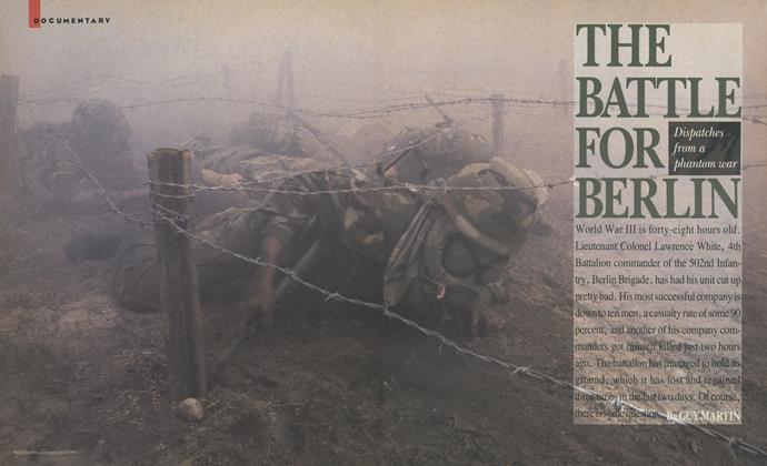 Article Preview: The Battle for Berlin, November 1987 | Esquire