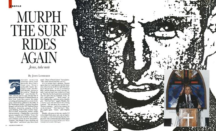 Article Preview: Murph the Surf Rides Again, November 1987 | Esquire