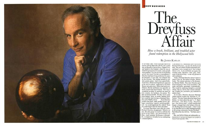 Article Preview: The Dreyfuss Affair, November 1987 | Esquire