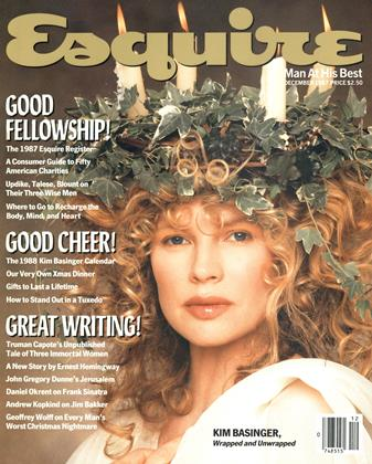 Cover for the December 1987 issue