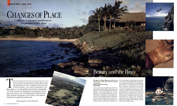 Article Preview: CHANGES OF PLACE, DECEMBER 1987 1987 | Esquire