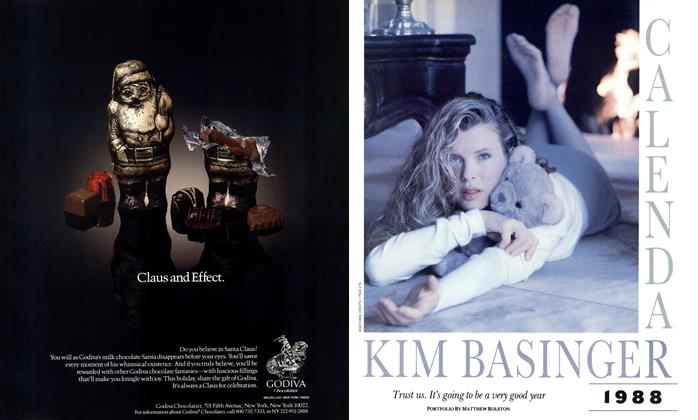 Article Preview: 1988 Kim Basinger Calendar, December 1987 | Esquire
