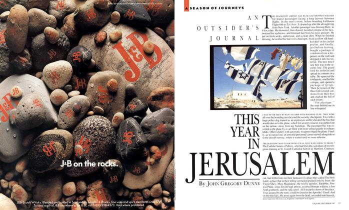 Article Preview: This Year in Jerusalem, December 1987 | Esquire