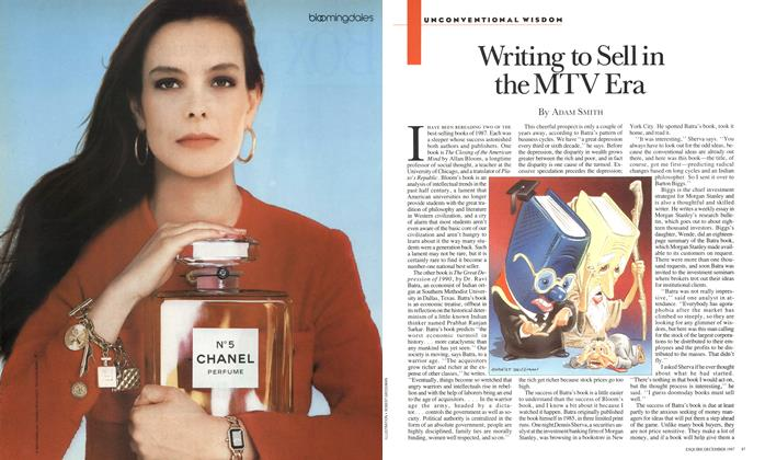 Article Preview: Writing to Sell in the MTV Era, DECEMBER 1987 1987 | Esquire